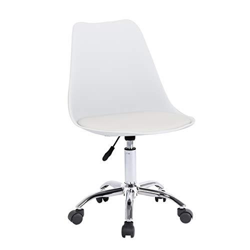 Zoyo Schreibtischstuhl, Bürostuhl, Computerstuhl, ergonomisch weiß