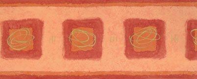 Selbstklebende Tapetenbordüre 3521-02 rot