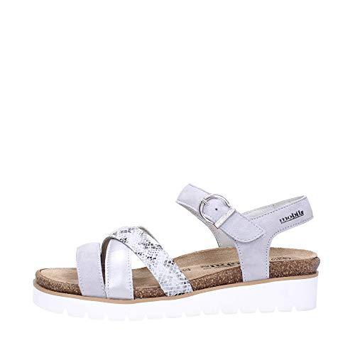 Mephisto Sandalo Donna Light grey Thina velc