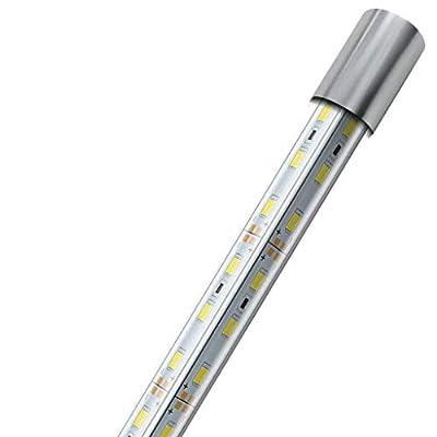 CanKun Eclairage Aquarium LED, Rampe LED pour Aquarium d'eau Douce, Lumière Aquarium Plantes, Lampe LED pour Aquarium,Blueandwhite,90.5cm