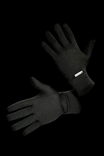 Thermowave Merino Handschuhe 100% Merinowolle, schwarz/unsisex (S/M)
