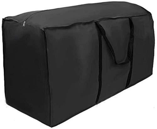 Sac de rangement, housse de coussin, housse de protection pour coussins, coussins de jardin, housses de coussin, housse de protection avec poignée, sac de rangement pour sapins de Noël (116*47*51cm)