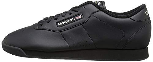 Reebok Women's Princess Aerobics Shoe, Black, 7.5 M