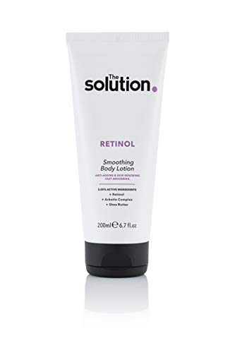 The Solution Retinol Smoothing Body Lotion With Anti-Ageing formula that targets...