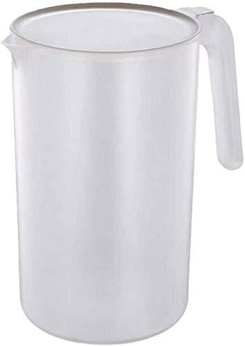 HEZHANG Jarra de Plástico de Bebidas con Tapa de Agua Fría Jarra de Jarra de Jarra Jarra con Mango para Bebidas de Mezcla de Agua 2000 Ml,M
