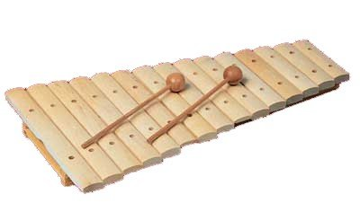 Xylophon mit 15 Tönen von Goldon