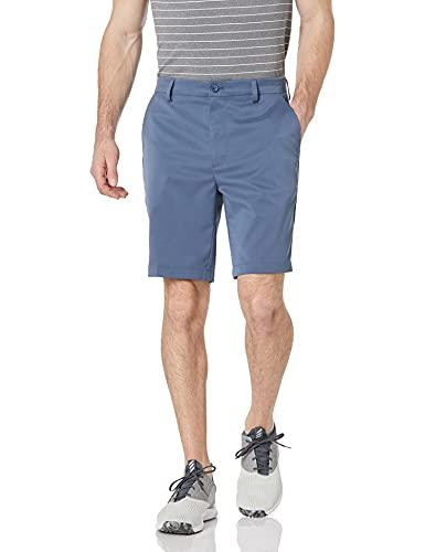 Amazon Essentials Pantalón Corto de Golf Elástico de Ajuste Clásico, Azul Índigo, 32W
