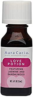 Aura Cacia Love Potion Essential Oil Blend | 0.5 fl. oz.