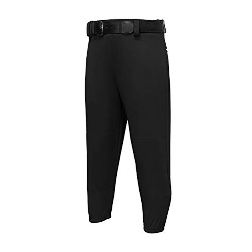 EASTON Youth PRO PULL UP Baseball Pant, Youth, Small, Black