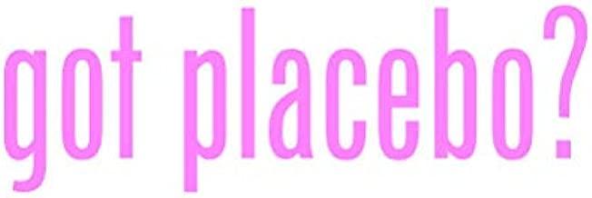RDW Got Placebo ? Sticker - Decal - Die Cut - Pink 6.98