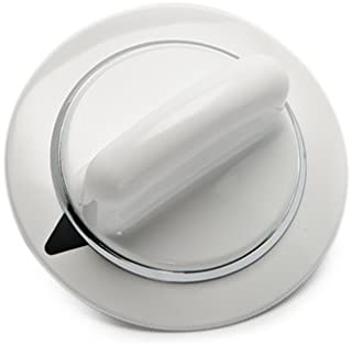 Lifetime Appliance WE1M654 Timer Knob with Metal Ring for General Electric Dryer
