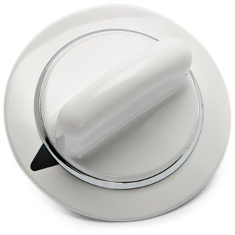 Lifetime Appliance WE1M654 Timer Knob with Metal Ring Compatible with General Electric Dryer