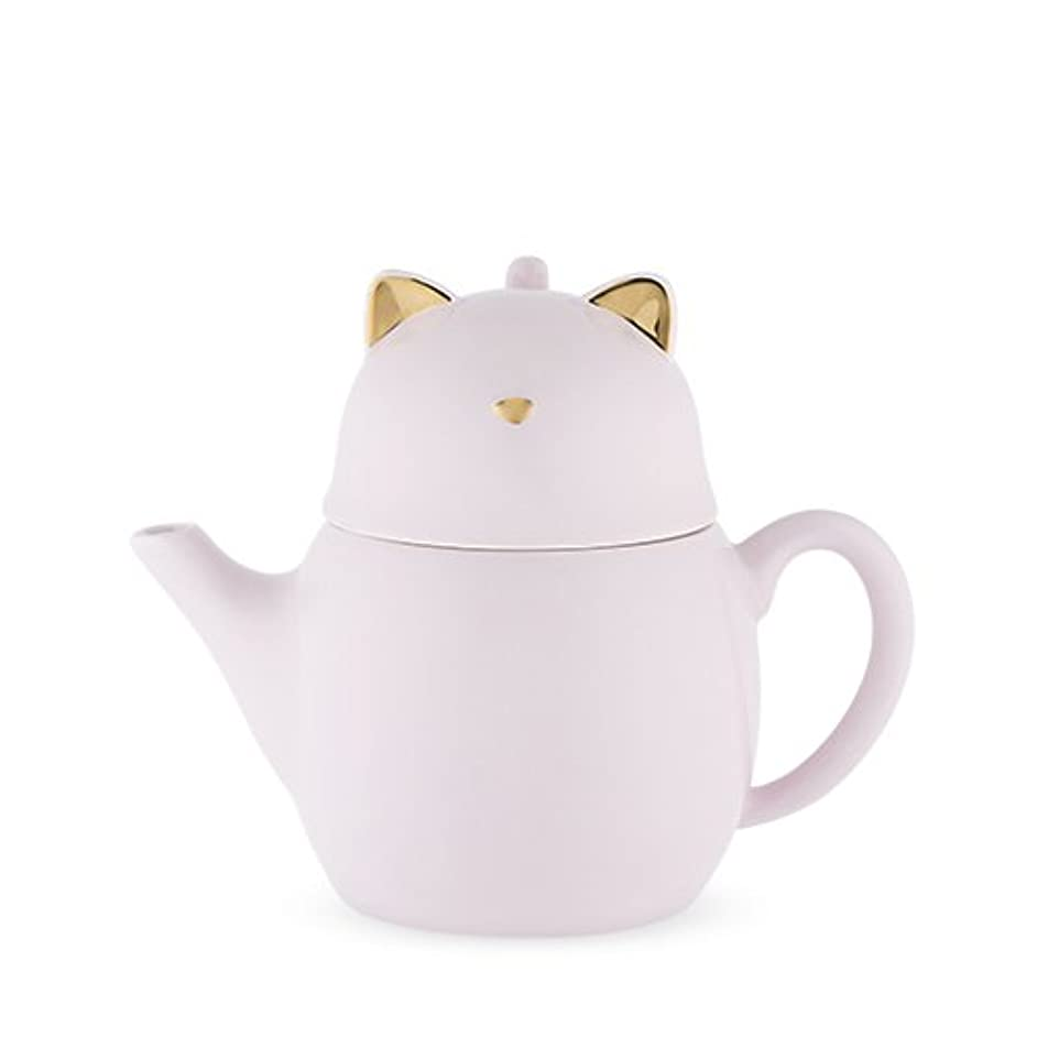 Pinky Up 6076 Purrrcy Cat Tea For One Set, Purple