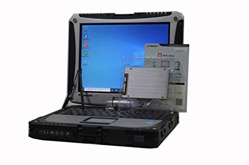 ノートパソコン 【Office搭載】 タッチスクリーン SSD 1TB (新品換装) Panasonic TOUGHBOOK CF-19 第3世代 Core i5 3340M XGA 10.4インチ 8GB/1TB/ドライブ非搭載/WiFi対応無線LAN/Bluetooth/Windows 10 デジタイザーペン付属