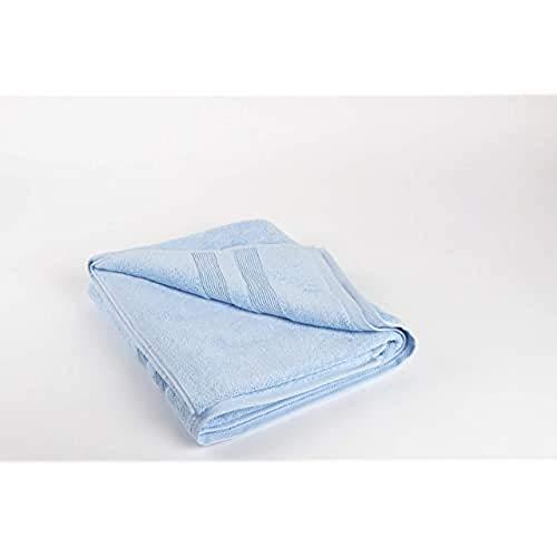 Homelab Toalla, 100% Algodón, Azul, 100 x 150