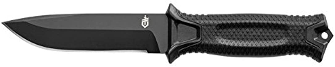 GERBER StrongArm Fixed Blade Knife with Fine Edge - Black