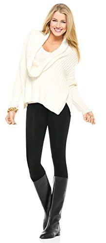 Spanx Look-at-Me Cotton Leggings S (36) - Very Black