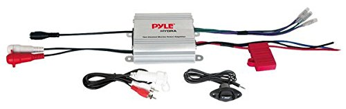 Lowest Prices! Pyle Hydra Marine Amplifier - Upgraded Elite Series 400 Watt 2 Channel Micro Amplifie...