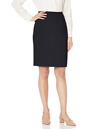 Jones New York Women's Washable Suiting Pencil Skirt, Black, 16