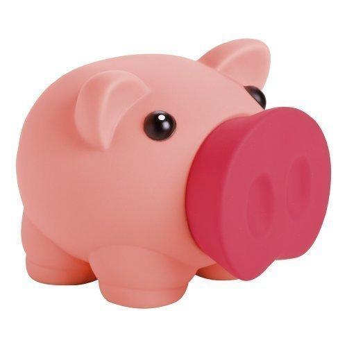 eBuyGB 1274738Novelty Pig, diseño de Cerdo Dinero Caja de Ahorro para Monedas y Billetes–Banco (Rosa)