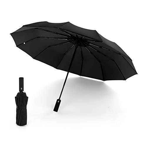 TAOZYY Paraguas Plegable De Viaje Paraguas De Golf, Ligero 12 Costillas Toldo...