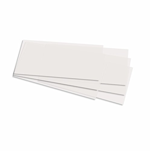 Laternenzuschnitte für Käseschachteln 11 cm, 15,5x37 cm, 10 Bogen, weiß Transparentpapier zum basteln für Laternen