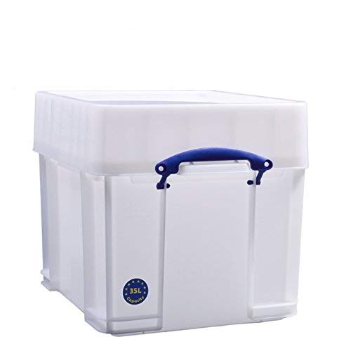 Really Useful Box 35 litres XXL - Extra fort - 480 x 390 x 375 mm - Blanc