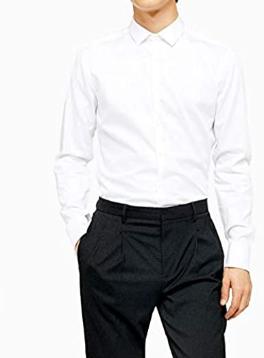 Camisa Blanca para niños con Corbata Negra