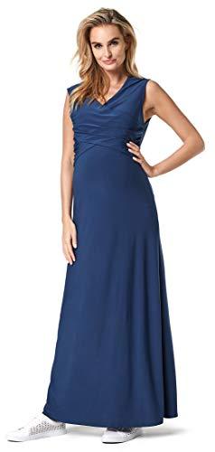 Noppies Moda ciążowa damska sukienka do karmienia Orane, niebieski (Dress Blues P093), L