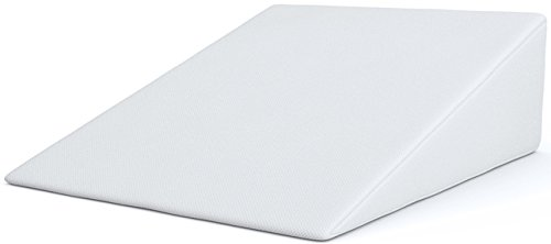 Bed Wedge, FitPlus Premium Wedge Pillow 2 Inches Memory Foam 2 Year Warranty, Acid Reflux Pillow With Removable Cover Dr Recommended For Snoring And Gerds