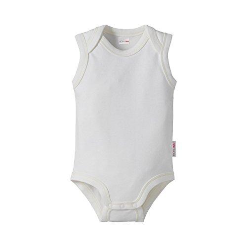 Bornino Le body sans manches bébé, blanc