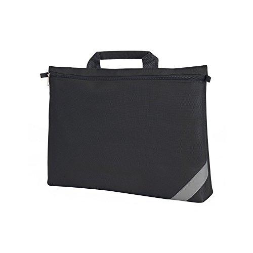 Shugon - Bolsa maletín para documentos (Talla Única/Negro)