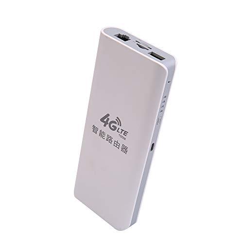 Docooler 300Mbit/s 2.4GHz Wireless WiFi Router 4G Portable WiFi ondersteunt OpenWRT en VPN zonder simkaart
