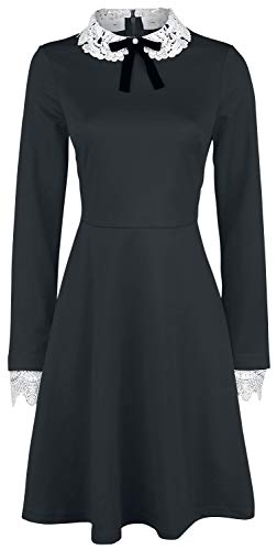 Hell Bunny Ricci Dress Frauen Kurzes Kleid schwarz XL