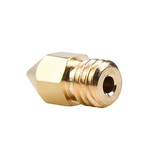 XBaofu 1Pc 3D-Drucker Messing Kupfer Düse Mischgrößen 0,2/0,3/0,4/0,5/0,6/0,8/1,0 mm Extruder Druckkopf 1.75mm 3.0MM MK8 MakerBot (Größe : 0.2 3.0MM)