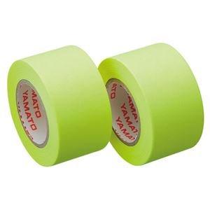 ヤマト メモック ロールテープ つめかえ用 25mm幅 レモン WR-25H-LE 1パック(2巻) ×15セット