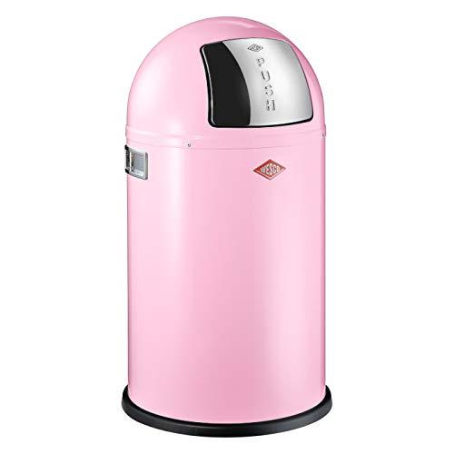 Wesco Abfallsammler Pushboy Junior 22 Liter pink
