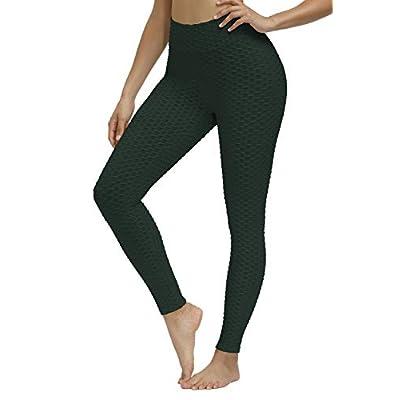 Amazon - 75% Off on Women's High Waist Yoga Pants Butt Lifting Workout Tummy Control