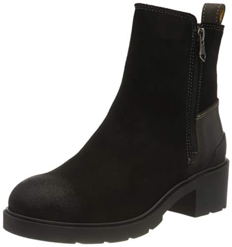 Camel Active Damen LEAF Mode-Stiefel, Black, 40 EU