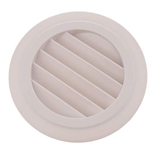 prasku Rejilla de Ventilación de Aire de Rejilla Salida de Ventilación Cubierta de Conducto de Pared DN125 para RV