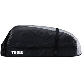 Thule 601100 Coffre de Toit Voiture Pliable Ranger 90 280 L Noir