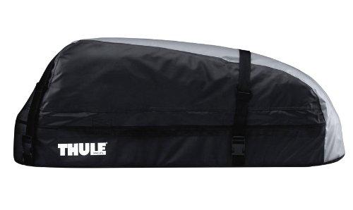 Thule Ranger 90, Coffre de toit pliable pour un rangement aisé.