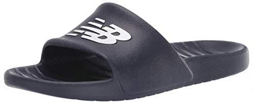 New Balance Men's 100 V1 Slide Sandal, Navy/Navy, 10 M US