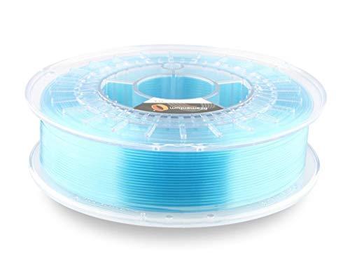 Fillamentum 3D Filament - PLA, 750g / 1.75mm - Kristallklare Island Blau (crystal clear iceland blue), Druck Temperatur 190-210°C