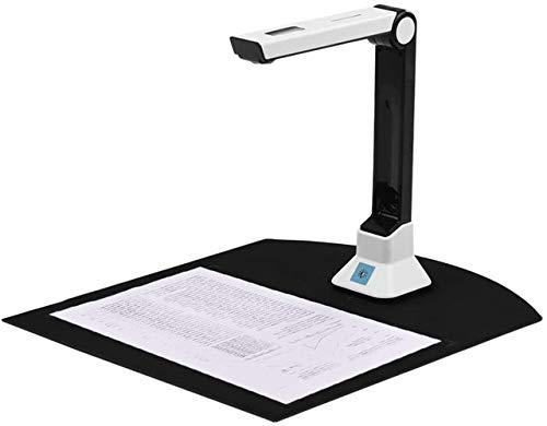 Xyfw Portátil De Alta Definición De 8 Megapíxeles Escáner De Documentos Tamaño De Captura Cámara De Documentos A4 para El Escáner De Reconocimiento De Archivos