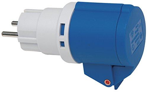 Brennenstuhl 1081571 Adattatore elettriche con spina Schuko e presa CEE 3 poli 230V/16A