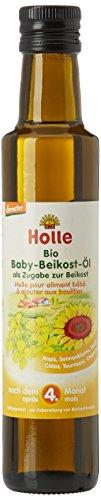 Holle Huile Alimentaire Biologique pour Bébé 250 ml - Lot de 2