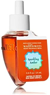 Bath & Body Works Wallflower Refill Sparkling Amber - Single Bulb