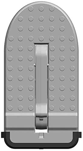 HZHAOWEI Klappbare Autotürverriegelungshaken aus Aluminiumlegierung Schritt Fußpedalleiter für Jeep SUV Truck Car Innenteile Dachpedale