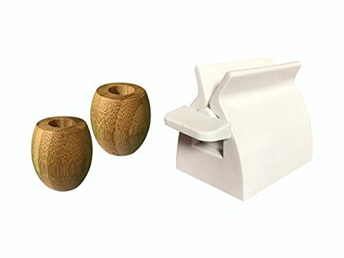 Prensa dental antidesperdicio, dispensador dentífrico, soporte de tubo de dientes accesorio de...